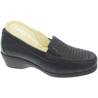 Topánky Ženy Mokasíny Calzaturificio Loren LOK4013bl blu