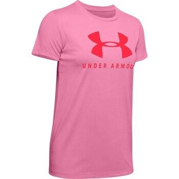 Oblečenie Ženy Tričká s krátkym rukávom Under Armour Graphic Sportstyle Classic Crew Ružová