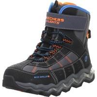 Topánky Deti Turistická obuv Skechers Kinderstiefel Polar Rush Čierna,Oranžová