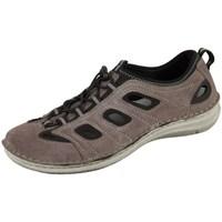 Topánky Muži Športové sandále Josef Seibel Slipper Anvers Sivá, Hnedá