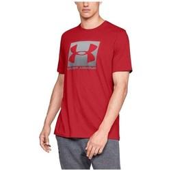 Oblečenie Muži Tričká s krátkym rukávom Under Armour Boxed Sportstyle Červená