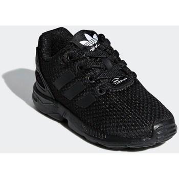 Topánky Deti Nízke tenisky adidas Originals ZX Flux EL I Čierna