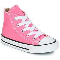 Topánky Deti Členkové tenisky Converse CHUCK TAYLOR ALL STAR CORE HI Ružová