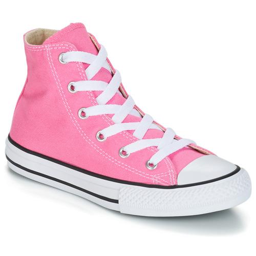 Topánky Dievčatá Členkové tenisky Converse CHUCK TAYLOR ALL STAR CORE HI Ružová
