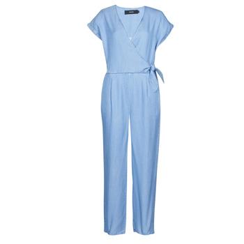 Oblečenie Ženy Módne overaly Vero Moda VMLAURA Modrá