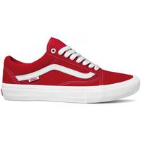 Topánky Muži Skate obuv Vans Old skool pro Červená