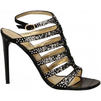 Topánky Ženy Sandále Ororo CAMOSCIO nero