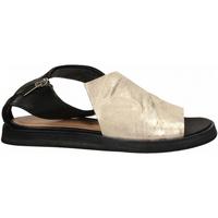 Topánky Ženy Sandále Salvador Ribes METAL PARKER + MATRIX panna-nero