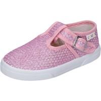 Topánky Dievčatá Nízke tenisky Enrico Coveri Tenisky BN685 Ružová