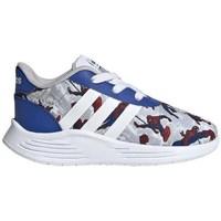 Topánky Deti Nízke tenisky adidas Originals Lite Racer 20 I Červená,Sivá,Modrá