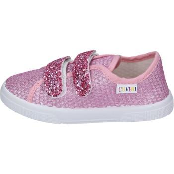 Topánky Dievčatá Módne tenisky Enrico Coveri Tenisky BN694 Ružová
