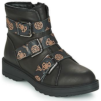 Topánky Ženy Polokozačky Guess WENDY Čierna