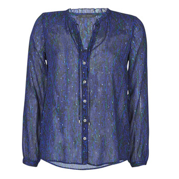 Oblečenie Ženy Košele a blúzky Ikks BR13035 Námornícka modrá