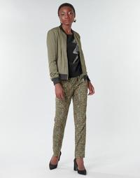 Oblečenie Ženy Padavé nohavice Ikks BR22005 Kaki