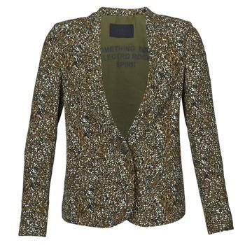 Oblečenie Ženy Saká a blejzre Ikks BR40005 Kaki