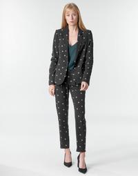Oblečenie Ženy Padavé nohavice Ikks BR22125 Čierna