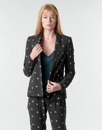 Oblečenie Ženy Saká a blejzre Ikks BR40115 Čierna
