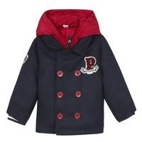 Oblečenie Chlapci Kabáty 3 Pommes 3R41023-04 Námornícka modrá