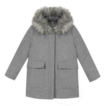 Oblečenie Dievčatá Kabáty 3 Pommes 3R44034-220-C Šedá