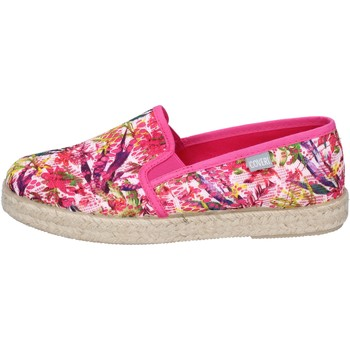 Topánky Ženy Slip-on Enrico Coveri Tenisky BN704 Ružová