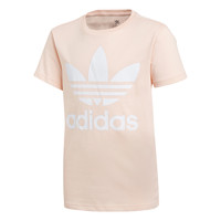 Oblečenie Dievčatá Tričká s krátkym rukávom adidas Originals TREFOIL TEE Ružová