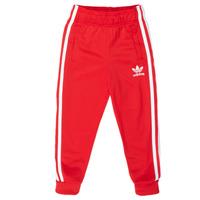 Oblečenie Deti Tepláky a vrchné oblečenie adidas Originals SST TRACKPANT Červená