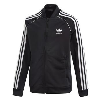 Oblečenie Deti Vrchné bundy adidas Originals SST TRACKTOP Čierna