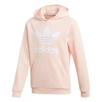 Oblečenie Dievčatá Mikiny adidas Originals TREFOIL HOODIE Ružová