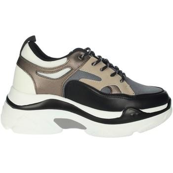 Topánky Ženy Členkové tenisky Rocco Barocco RBSC4EX01 Black/Beige