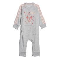 Oblečenie Dievčatá Pyžamá a nočné košele adidas Performance INF DY MM ONE Biela