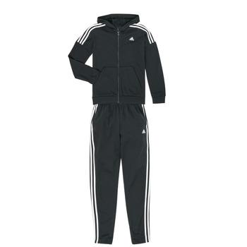 Oblečenie Chlapci Súpravy vrchného oblečenia adidas Performance JB COTTON TS Čierna