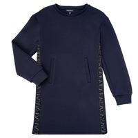 Oblečenie Dievčatá Krátke šaty Emporio Armani 6H3A07-1JDSZ-0920 Námornícka modrá