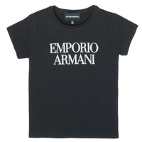 Oblečenie Dievčatá Tričká s krátkym rukávom Emporio Armani 8N3T03-3J08Z-0999 Čierna