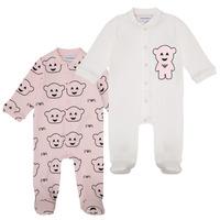 Oblečenie Dievčatá Pyžamá a nočné košele Emporio Armani 6HHV06-4J3IZ-F308 Ružová