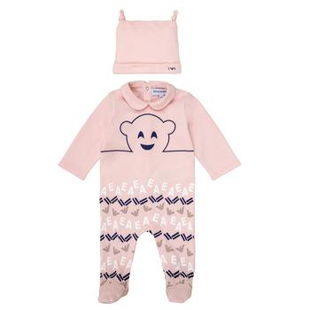 Oblečenie Dievčatá Pyžamá a nočné košele Emporio Armani 6HHV08-4J3IZ-0355 Ružová