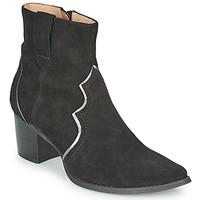 Topánky Ženy Čižmičky Karston APLAX Čierna