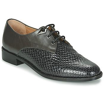 Topánky Ženy Derbie Karston VENDREDI Čierna