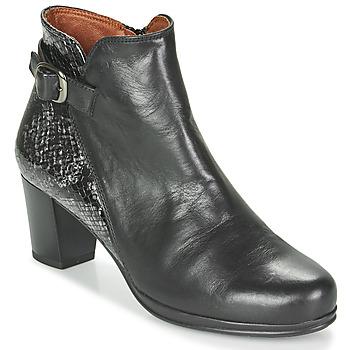 Topánky Ženy Čižmičky Karston TUCKO Čierna