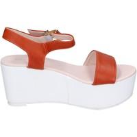 Topánky Ženy Sandále Solo Soprani Sandále BN770 Oranžová