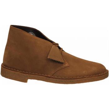 Topánky Muži Polokozačky Clarks DESERTBOOT M cola
