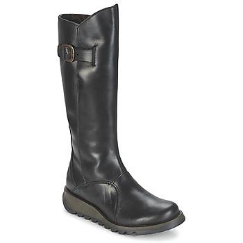 Topánky Ženy Čižmy do mesta Fly London MOL 2 Čierna