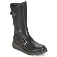Topánky Ženy Čižmy do mesta Fly London MES2 Čierna