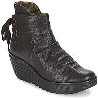 Topánky Ženy Čižmičky Fly London YAMA Čierna
