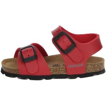 Topánky Chlapci Sandále Grunland SB0027-40 Red
