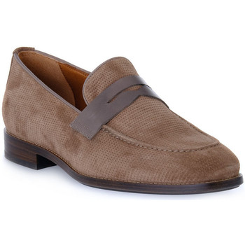 Topánky Muži Mokasíny Frau HIVE NAPPA TORTORA Beige