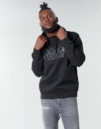 Oblečenie Muži Mikiny Armani Exchange 6HZMFK Čierna