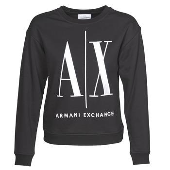 Oblečenie Ženy Mikiny Armani Exchange 8NYM02 Čierna