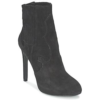 Topánky Ženy Čižmičky Ash BOO čierna