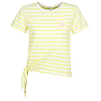 Oblečenie Ženy Tričká s krátkym rukávom Only ONLBRAVE Žltá