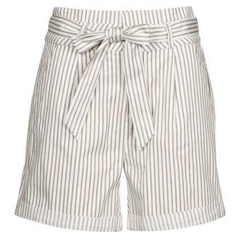 Oblečenie Ženy Šortky a bermudy Vero Moda VMEVA Biela / Béžová